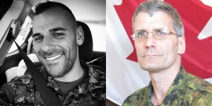 Cpl Nathan Cirillo and WO Patrice Vincent